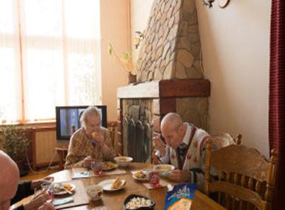 Проект дома интерната для престарелых