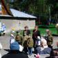 Журавлевский дом-интернат выступление перед ветеранами
