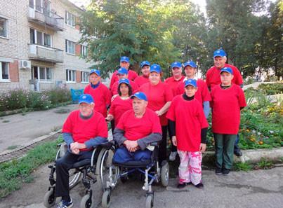 Команда Тарусского дома-интерната