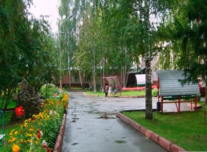 Кемеровский дом-интернат асфальтированная дорога