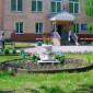 Кемеровский дом-интернат клумба