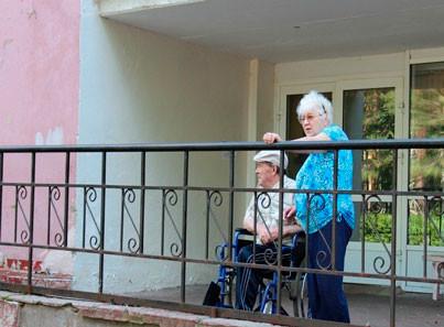 Кировский дом-интернат балкон