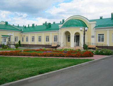 Здание Липовского дома интерната