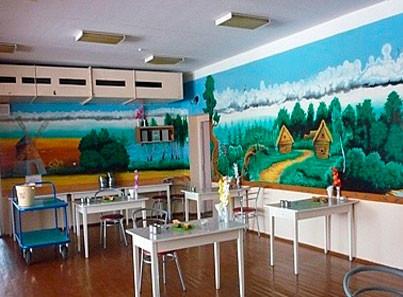Маймаксанский дом-интернат столовая