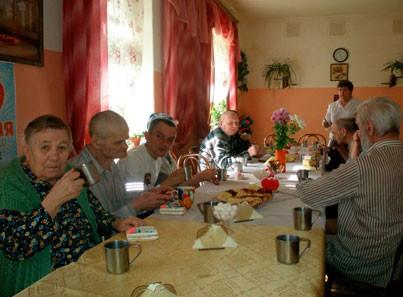 Няндомский дом интернат столовая