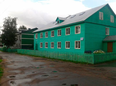 Прилукский специальный дом жилое здание