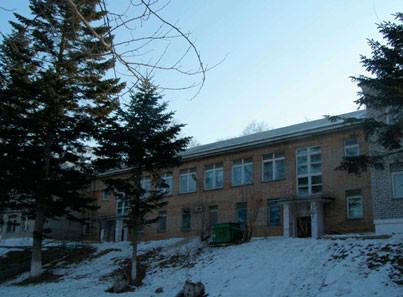 Артемовский городской дом-интернат фасад главного здания