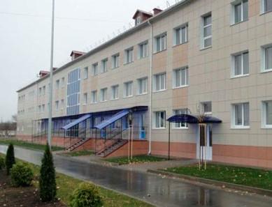 фасад здания шебекинского интерната