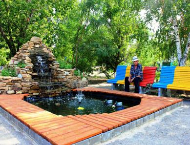 Волгоградский дом интернат фонтан
