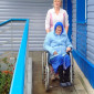 Шкуринский дом-интернат для престарелых и инвалидов прогулка