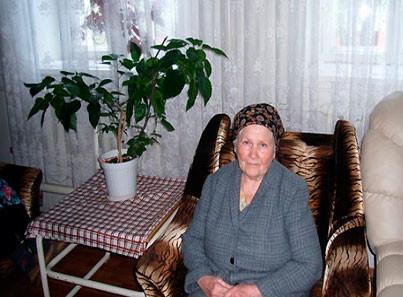 Выселковский дом-интернат жительница интерната