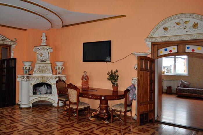 Холл дома-интерната «Саянский»