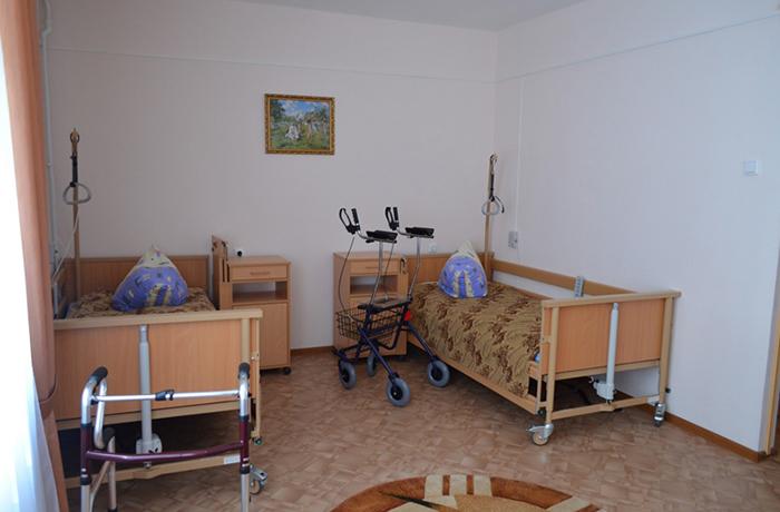 Оборудованная комната
