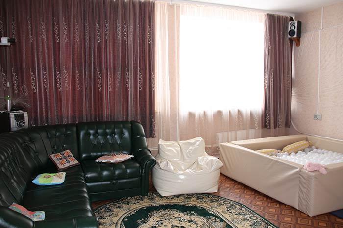 Комната отдыха в интернате «Отрада»