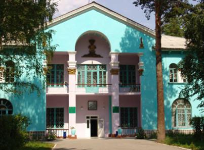 Главное здание пансионата