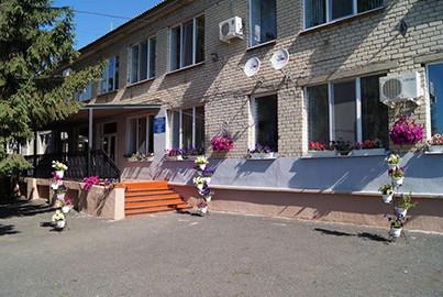 Главное здание Борисовского интерната