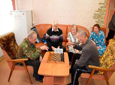Досуг - Игра в Шахматы