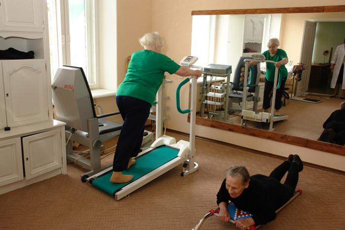 Физические занятия в центре