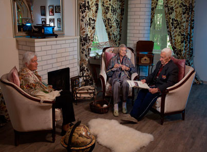 В дом престарелых на платной основе