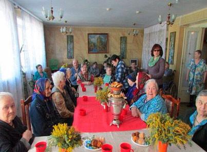 Пансионаты для пожилых людей в ленинградской обл