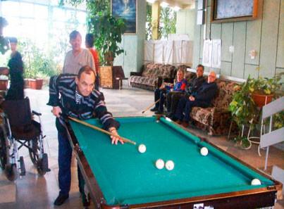 Дом интернат для престарелых в станице