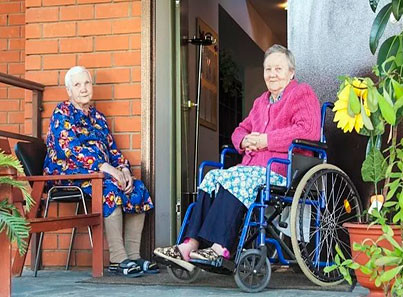 Каратузский дом интернат для пожилых