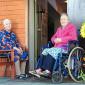 Жильцы в доме престарелых «Доброта» в Домодедово
