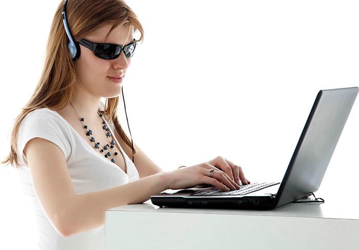 Компьютер для слепых