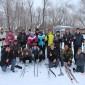 Жильцы на лижах