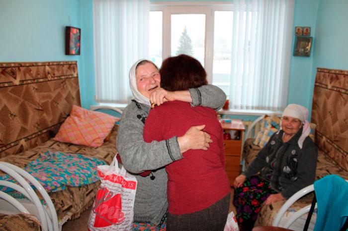 Постояльцы дома-престарелых