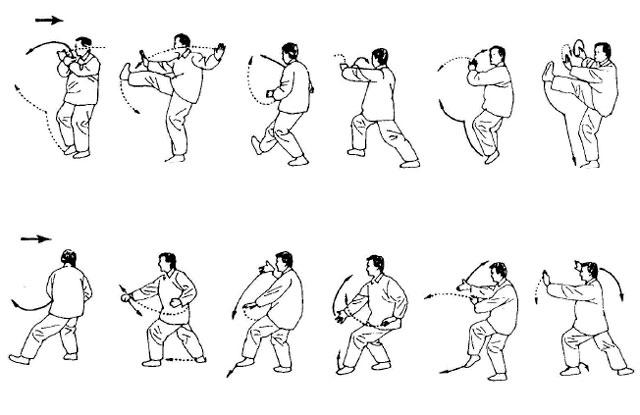Упражнения гимнастики Тай-Чи