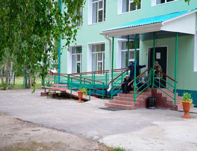 Дом-интернат для престарелых и инвалидов Колпашевского района