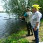 Жильцы на рыбалке