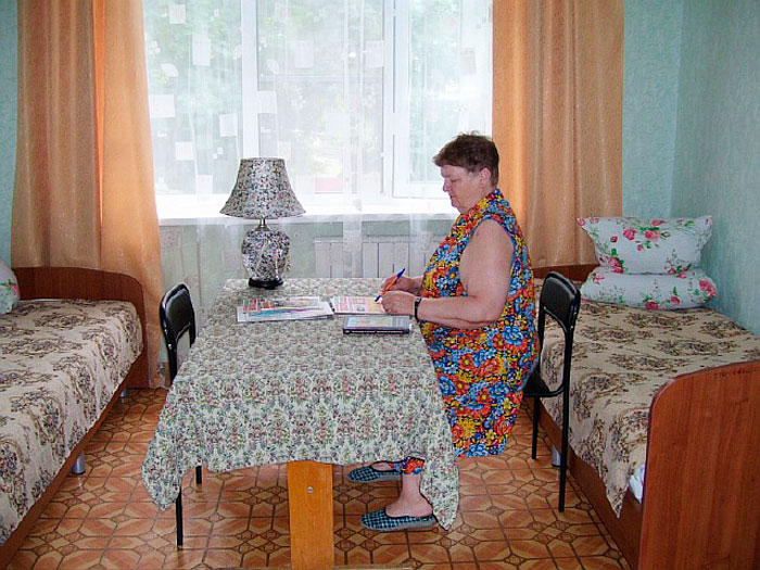 Комната постояльцев