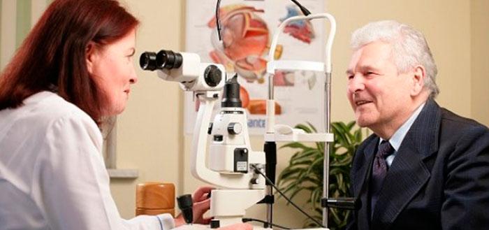 Диагностика макулодистрофии сетчатки