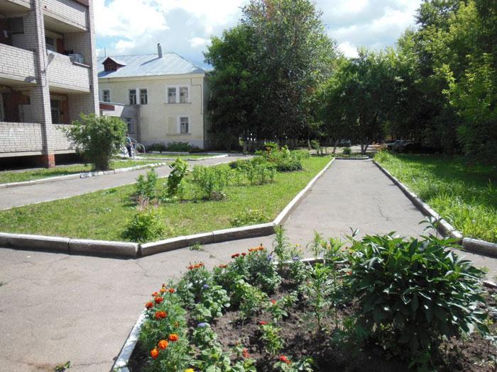 Территория Ивановского психоневрологического интерната