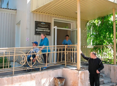 Краснолиманський будинок-інтернат для громадян похилого віку