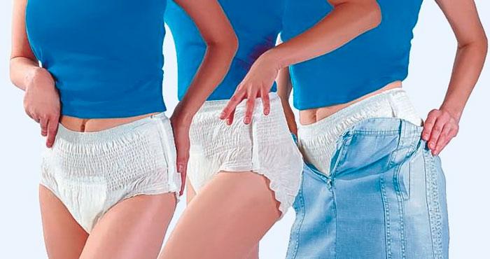 Как одевать памперс