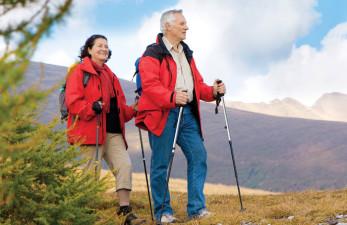 Скандинавская ходьба для пожилых, как правильно подобрать палки