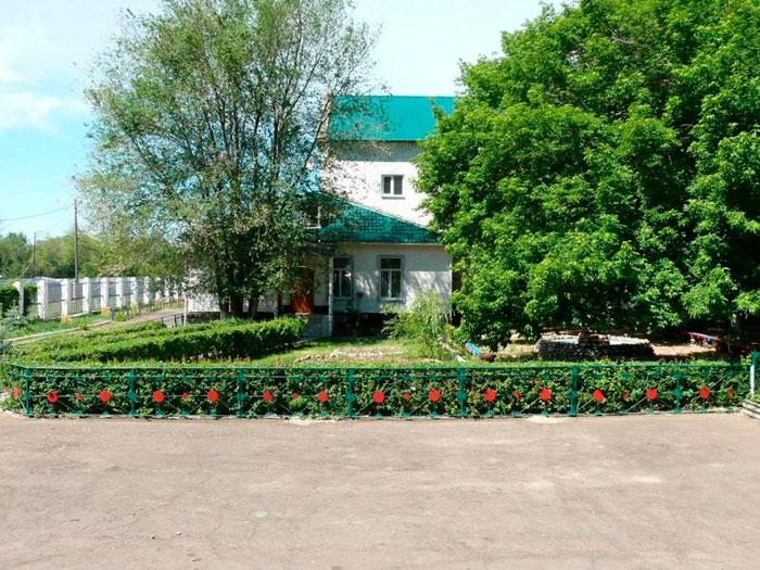 Территория Соль-Илецкого психоневрологического интерната