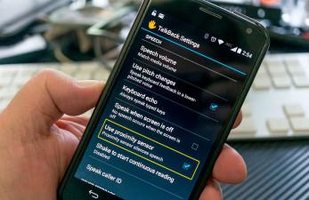 Экранный диктор для Андроид или смартфон для незрячего