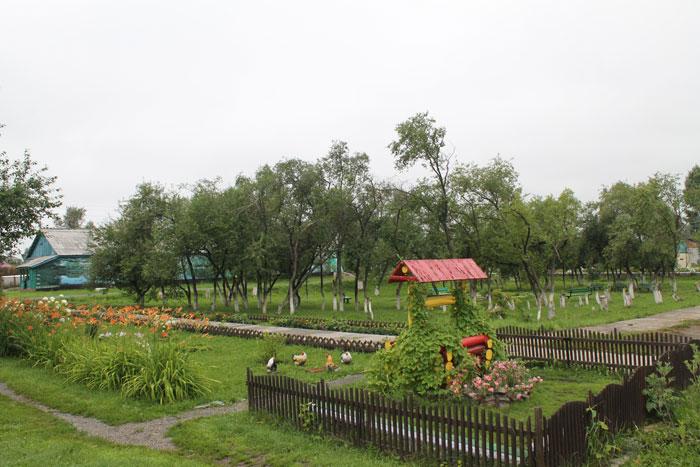Территория Болотнинского психоневрологического интерната