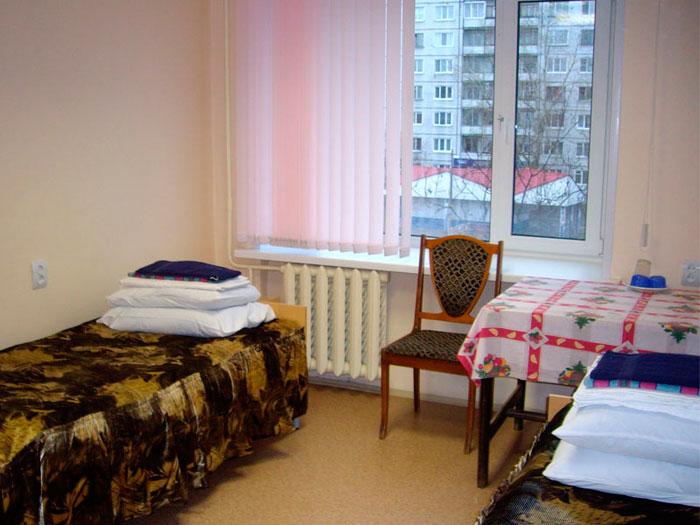 Комната постояльцев центра реабилитации «Родник»