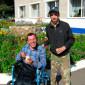 Постояльцы Черняевского дома-интерната для престарелых и инвалидов