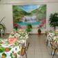 Столовая в Чулымском специальном доме-интернате для престарелых