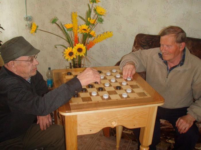 Досуг постояльцев Дормидонтовского дома-интерната для престарелых и инвалидов