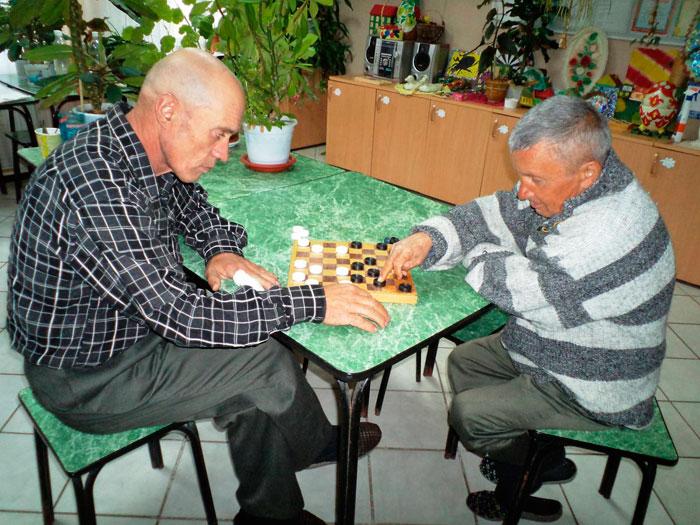 Досуг постояльцев Драгунского психоневрологического интерната