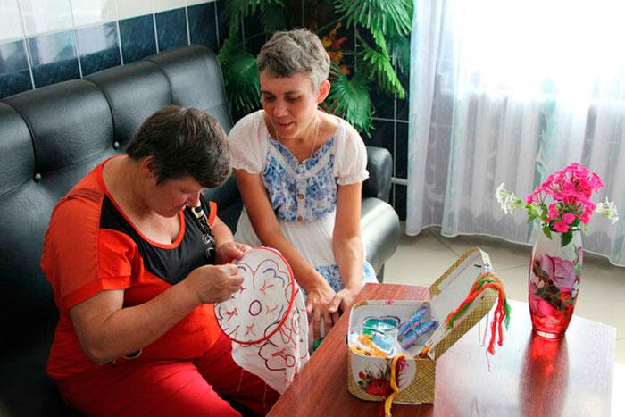 Досуг жителей Егорьевского психоневрологического интерната