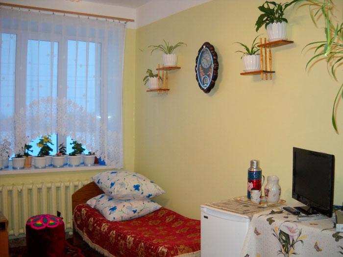 Комната постояльцев Карлыганского дома престарелых