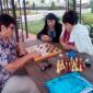 Шахматы в Каширском дом-интернате для престарелых и инвалидов